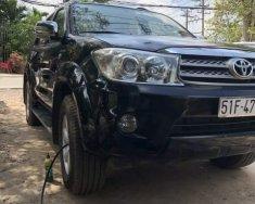 Cần bán gấp Toyota Fortuner sản xuất 2009, màu đen giá cạnh tranh giá 550 triệu tại Tp.HCM