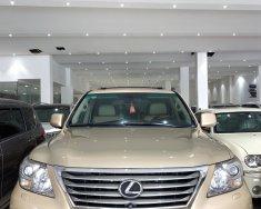 Bán Lexus LX 570 năm sản xuất 2008, màu vàng, nhập khẩu giá 2 tỷ 450 tr tại Tp.HCM