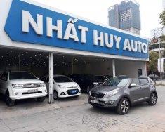 Cần bán Kia Sportage đời 2010, màu xám, nhập khẩu giá 555 triệu tại Hà Nội