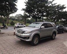 Cần bán Toyota Fortuner V sản xuất 2014, màu bạc giá 750 triệu tại Hà Nội