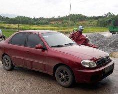 Bán Daewoo Lanos sản xuất năm 2002, màu đỏ, xe nhập giá 80 triệu tại Bắc Giang