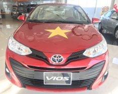 Bán xe Toyota Vios năm sản xuất 2018, màu đỏ, giá tốt giá Giá thỏa thuận tại Tp.HCM