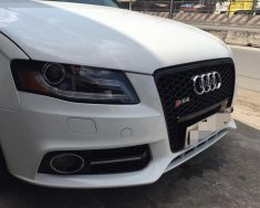 Bán ô tô Audi A4 1.8 turbo - 2011, lên cản RS4, màu trắng nhập khẩu giá 720 triệu tại Tp.HCM