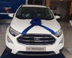 Cần bán xe Ford EcoSport đời 2018, màu trắng giá 605 triệu tại Hà Nội