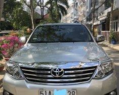 Bán Toyota Fortuner sản xuất năm 2012, màu bạc, giá tốt giá 650 triệu tại Tp.HCM
