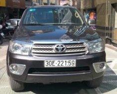 Cần bán lại xe Toyota Fortuner đời 2009, màu xám chính chủ, giá chỉ 580 triệu giá 580 triệu tại Hà Nội