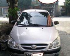 Cần bán xe Hyundai Getz sản xuất 2008, màu bạc, nhập khẩu giá 160 triệu tại Hà Nam
