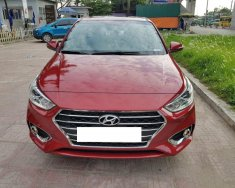 Cần bán xe Hyundai Accent 1.4AT 2018 màu đỏ đập hộp tháng 08/2018 giá 537 triệu tại Tp.HCM