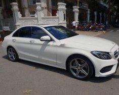 Cần bán gấp Mercedes C250 AMG đời 2015, màu trắng như mới giá 1 tỷ 425 tr tại Tp.HCM