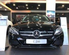 Bán Mercedes C200 đời 2018, màu đen giá 1 tỷ 489 tr tại Tp.HCM