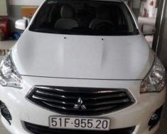 Chính chủ bán Mitsubishi Attrage sản xuất 2016, màu trắng giá 340 triệu tại Tp.HCM