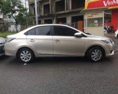 Bán Toyota Vios E đời 2015, màu vàng chính chủ giá 425 triệu tại Hà Nội