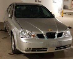 Cần bán lại xe Daewoo Lacetti đời 2004, màu bạc giá 135 triệu tại Hà Nội