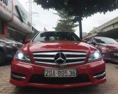 Bán xe Mercedes C300 AMG đời 2012, màu đỏ giá 790 triệu tại Hà Nội