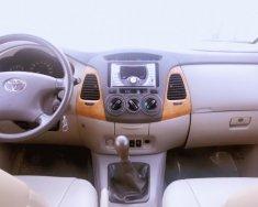 Cần bán Toyota Innova 2.0 G đời cuối 2009, màu bạc, giá 405tr Hot giá 405 triệu tại Tp.HCM