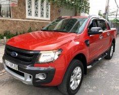 Bán ô tô Ford Ranger Wildtrak 3.2L 4x4 AT năm 2015, màu đỏ, nhập khẩu  giá 679 triệu tại Tp.HCM