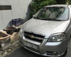 Cần bán lại xe Chevrolet Aveo LT năm sản xuất 2012, màu bạc chính chủ, giá 210tr giá 210 triệu tại Tp.HCM