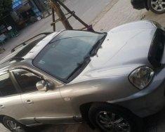 Cần bán gấp Hyundai Santa Fe Gold 2.0 AT đời 2004, màu bạc, nhập khẩu  giá 300 triệu tại Thái Nguyên