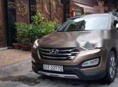 Cần bán gấp Hyundai Santa Fe AT đời 2015, màu nâu   giá 850 triệu tại Tp.HCM