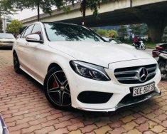 Cần bán Mercedes C250 AMG 2015, màu trắng giá 1 tỷ 430 tr tại Hà Nội