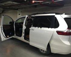 Bán Toyota Sienna Limited 3.5 sản xuất 2015, màu trắng, nhập khẩu giá 3 tỷ 300 tr tại Hà Nội