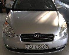 Cần bán lại xe Hyundai Verna đời 2008, màu bạc giá 205 triệu tại BR-Vũng Tàu