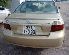 Bán xe Toyota Vios sản xuất năm 2005, màu vàng cát giá 156 triệu tại Hà Tĩnh