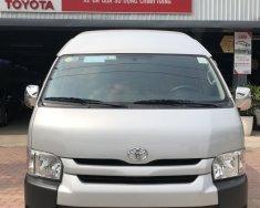 Bán Toyota Hiace 2.5 đời 2015, màu bạc, nhập khẩu nguyên chiếc, giá cạnh tranh xe đẹp như mới giá 780 triệu tại Tp.HCM