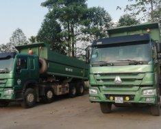 Bán xe tải ben Howo 4 chân 371 Hp đời 2015, tải trọng 16,8 tấn giá 850 triệu tại Bắc Giang