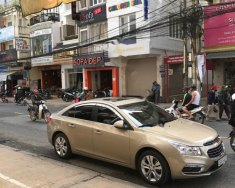Bán Chevrolet Cruze LTZ 1.8 AT sản xuất năm 2016, màu vàng, gia đình đi rất kỹ, xe nữ chạy giá 520 triệu tại Lâm Đồng