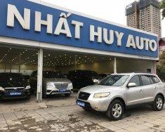 Bán Hyundai Santa Fe 2.7AT đời 2007, màu bạc, nhập khẩu giá 395 triệu tại Hà Nội