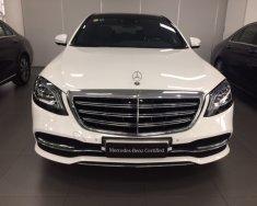 Bán ô tô Mercedes-Benz S450L, tháng 09/2018, đi 3.800 km, màu trắng/đen giá 4 tỷ 99 tr tại Tp.HCM