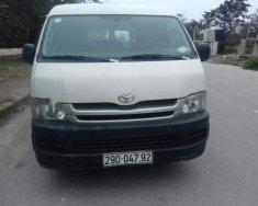 Cần bán gấp Toyota Hiace MT đời 2007, màu trắng, giá tốt giá 260 triệu tại Hà Nội