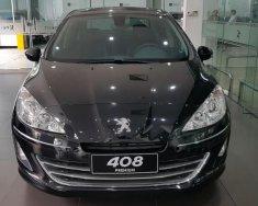 Bán Peugeot 408 Deluxe năm 2017, màu đen nhiều bất ngờ giá 670 triệu tại Hà Nội