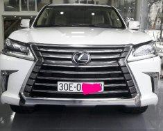 Bán xe Lexus LX570 2016 màu trắng, nhập Mỹ giá 7 tỷ 100 tr tại Hà Nội