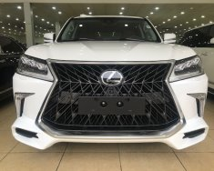 Bán ô tô Lexus LX 570 đời 2020 màu trắng, nhập khẩu chính hãng giá 9 tỷ 100 tr tại Hà Nội