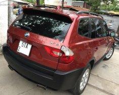 Bán ô tô BMW X3 2.5i sản xuất năm 2004, màu đỏ, nhập khẩu, 295 triệu giá 295 triệu tại Tp.HCM