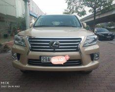 Bán Lexus LX 570 vàng cát đời 2010 đã lên đời 2015 giá 3 tỷ tại Hà Nội