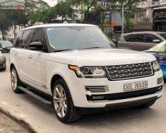Bán lại xe LandRover Range Rover Autobiography LWB Black Edition sản xuất 2015, màu trắng, nhập khẩu chính chủ giá 6 tỷ 990 tr tại Hà Nội