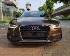 Bán ô tô Audi A4 sản xuất năm 2015, màu nâu, xe nhập giá 1 tỷ 288 tr tại Hà Nội