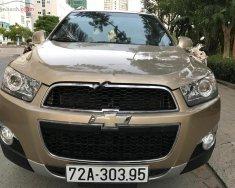 Bán Chevrolet Captiva LTZ năm sản xuất 2012, màu vàng, giá 490 triệu giá 490 triệu tại Tp.HCM