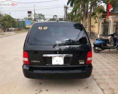 Cần bán xe Kia Carnival GS 2.5 AT sản xuất năm 2009, màu đen chính chủ giá 290 triệu tại Hà Nội