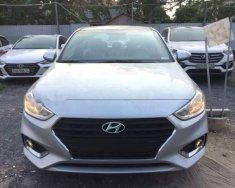 Cần bán xe Hyundai Accent năm sản xuất 2019, màu bạc giá 495 triệu tại Tp.HCM