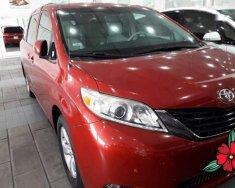 Cần bán lại xe Toyota Sienna năm sản xuất 2011, màu đỏ, nhập khẩu Mỹ giá 1 tỷ 200 tr tại Tp.HCM