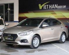 Cần bán xe Hyundai Accent 1.4MT sản xuất năm 2018, màu ghi vàng, giá cạnh tranh giá 488 triệu tại Tp.HCM