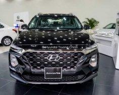 Bán ô tô Hyundai Santa Fe sản xuất 2019, màu đen giá 1 tỷ 150 tr tại Tp.HCM