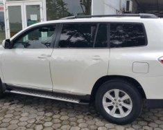Cần bán Toyota Highlander SE 2.7 đời 2011, màu trắng, nhập khẩu như mới giá 1 tỷ 210 tr tại Hà Nội