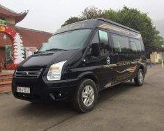 Bán Ford Transit Luxury SLX sản xuất 2016, màu đen chính chủ, giá tốt giá 605 triệu tại Hà Nội