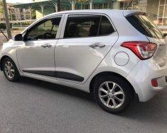 Bán ô tô Hyundai Grand i10 AT năm 2015, màu bạc, nhập khẩu, tư nhân chính chủ giá 348 triệu tại Hà Nội