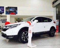 Cần bán xe Honda CR V L năm 2018, màu trắng, Nhập khẩu Thái giá 1 tỷ 93 tr tại Tp.HCM